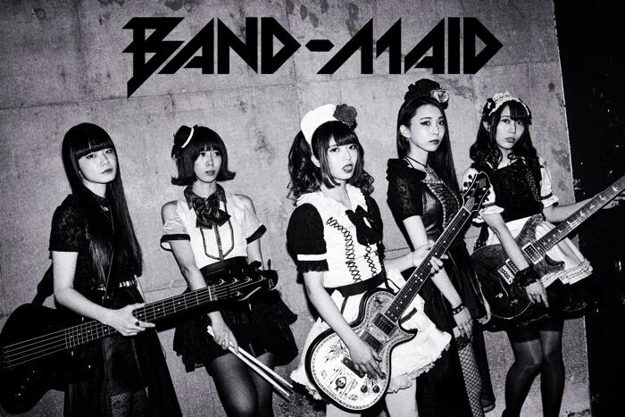 BAND-MAIDロックバンド