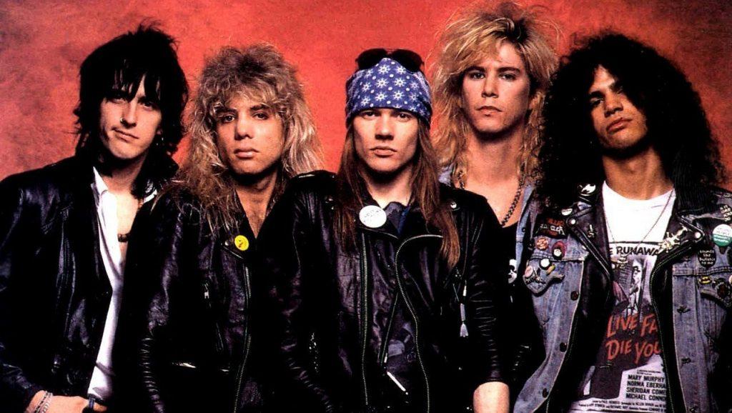 伝説のロックバンドのスロット:Guns N' Roses